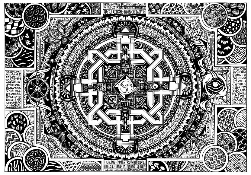 Kkatagas Indian Mandala