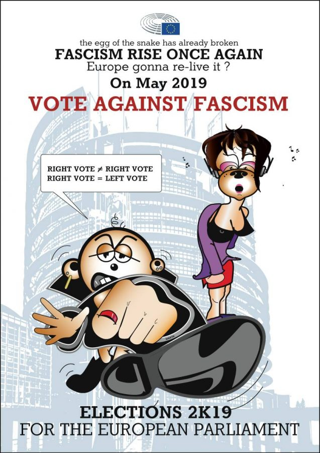 vote against fascism
